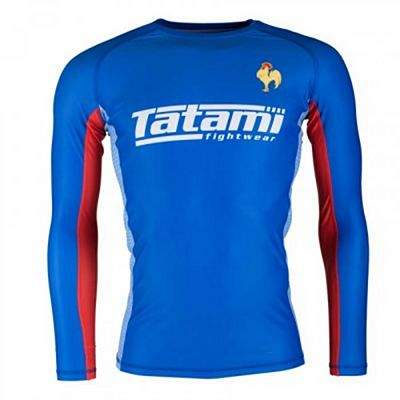 Tatami Six Nations Rash Guard France Azul