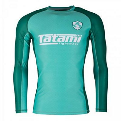 Tatami Six Nations Rash Guard Ireland Verde