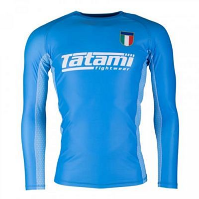 Tatami Six Nations Rash Guard Italy Azul