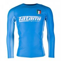 Tatami Six Nations Rash Guard Italia Azul