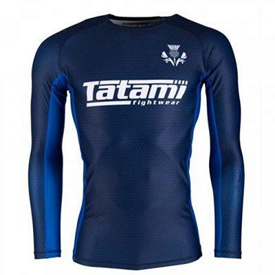 Tatami Six Nations Rash Guard Escocia Azul