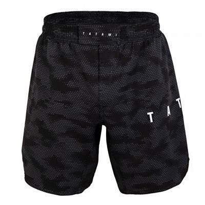 Tatami Standard Edition Black Digital Camo Grapple Fit Shorts Musta-Camo
