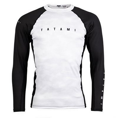 Tatami Standard Edition White Digital Camo LS Rash Guard Valkoinen-Camo