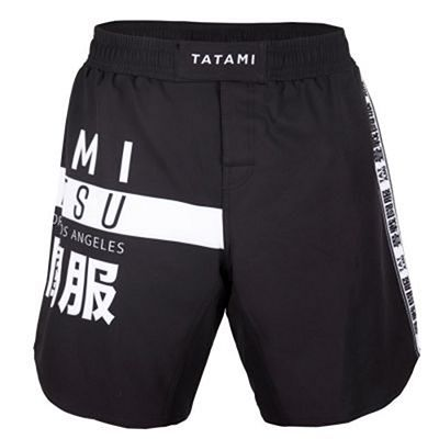 Tatami Worldwide Jiu Jitsu Shorts Svart