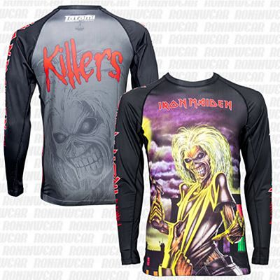 Tatami X Iron Maiden Killers Rash Guard Preto