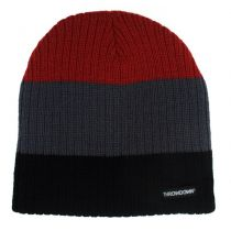 Throwdown Beanie Down Negro-Gris