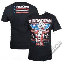 Throwdown T-shirt Ajax Negro