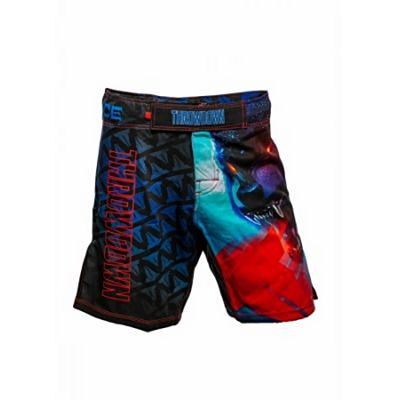 Throwdown Arctic Fightshorts Blue-Red