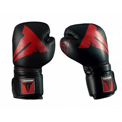 Throwdown Boxing Gloves Predator 2.0 Negro-Rojo