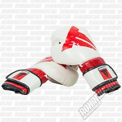 Throwdown Carbonian Boxing Gloves 2.0 Bianco-Rosso