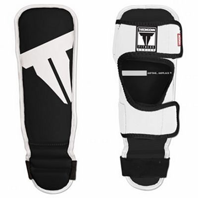 Throwdown Youth Shin In Step Guards Nero