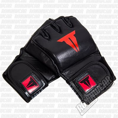 Throwdown MMA Elite Pro Gloves 4oz Nero