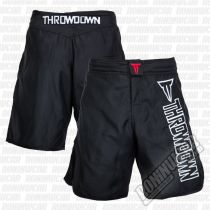 Throwdown MMA Fight Shorts Negro