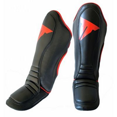 Throwdown Pro Stand Up Shin Instep Guards Nero
