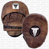 Throwdown Vintage Perfect Punch Mitts 2.0 Marron
