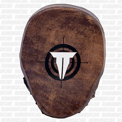 Throwdown Vintage Perfect Punch Mitts 2.0 Brown