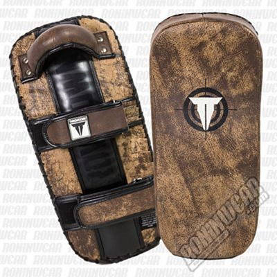 Throwdown Vintage Tactical Curved Thai Pads