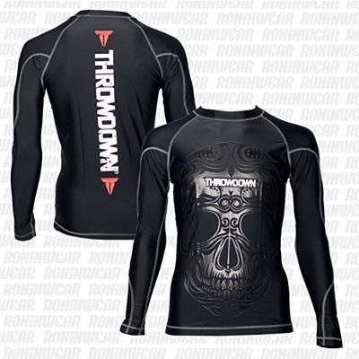 Throwdown Voodoo Rashguard Fekete