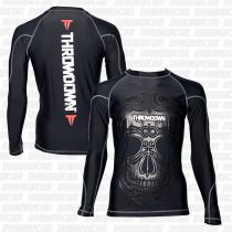 Throwdown Voodoo Rashguard Schwarz