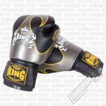 Top King Empower Boxing Gloves Black