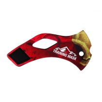 Training Mask Red Iron Sleeve