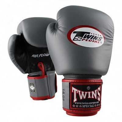 Twins Special BGVL 3 Air Boxing Gloves Nero-Grigio