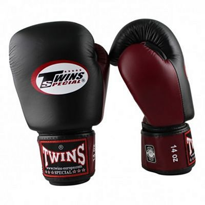 Twins Special BGVL 3 Boxing Gloves Black-Red