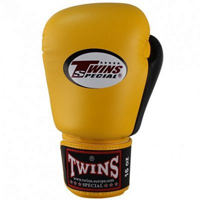 Twins Special BGVL 3 Boxing Gloves Giallo-Nero