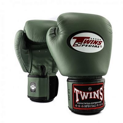 Twins Special BGVL 3 Militairy Boxing Gloves Green