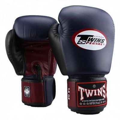 Twins Special BGVL 4 Boxing Gloves Red-Blue-Black