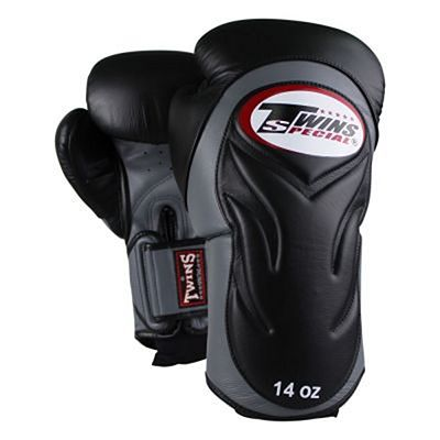 Twins Special BGVL-6 Boxing Gloves Nero-Grigio