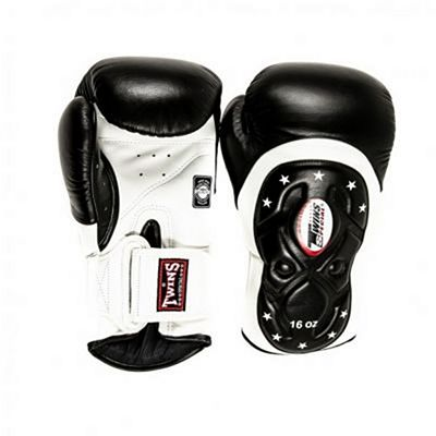 Twins Special BGVL 6 MK Edition 1 Boxing Gloves Nero-Bianco
