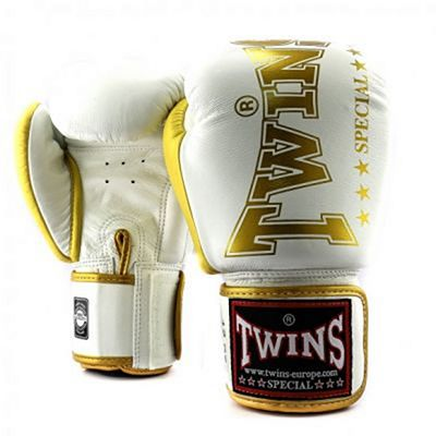 Twins Special BGVL 8 Boxing Gloves Bianco-Oro