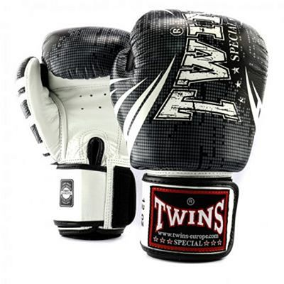 Twins Special Fantasy 1 Boxing Gloves Black-White