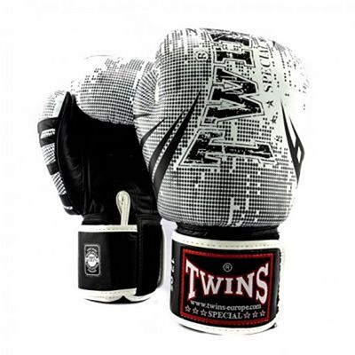 Twins Special Fantasy 2 Boxing Gloves Bianco-Nero