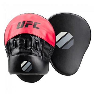 UFC Contender Cuved Focus Handpads Black-Red