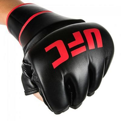 UFC Contender MMA Gloves 6oz With Thumb Nero