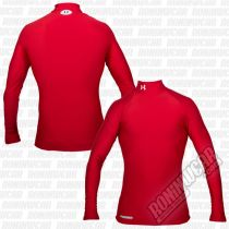 Under Armour Coldgear Evo Compression Mock L/S Red