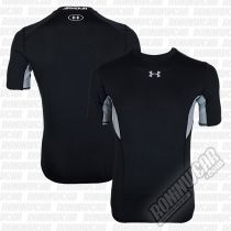 Under Armour CoolSwitch S/S Compression Shirt Schwarz