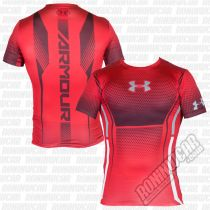Under Armour HeatGear Armour Branded Red