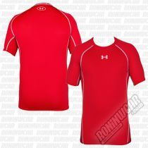 Under Armour HeatGear Armour S/S Compression T-shirt Red