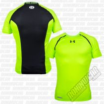 Under Armour Heatgear Dynasty Compression S/S Grün