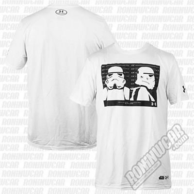 Under Armour Mens Star Wars UA Trooper T-Shirt Branco
