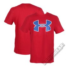 Under Armour Mesh Logo Red