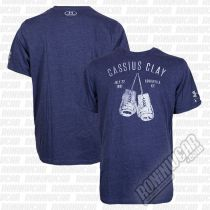 Under Armour Muhammad Ali Cassius 8th Bout T-Shirt Azul Marino