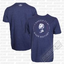 Under Armour Muhammad Ali Cassius Make History T-Shirt Tengerkèk