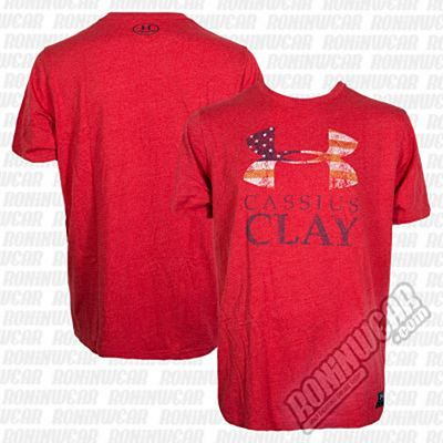 Under Armour Muhammad Ali Cassius Sportstyle T-Shirt Rosso