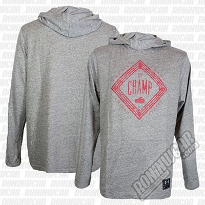 Under Armour Muhammad Ali Cassius Tri-Blend Hoodie Cinza