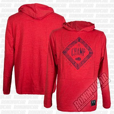 Under Armour Muhammad Ali Cassius Tri-Blend Hoodie Red