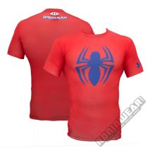 Under Armour Spiderman Alter Ego Compression SS Rot